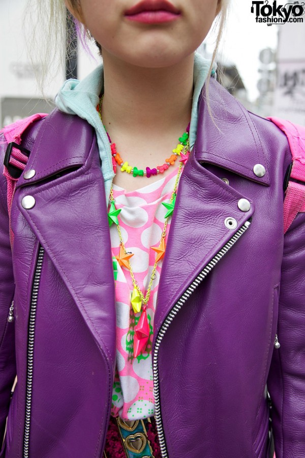 Candy Colored Necklaces