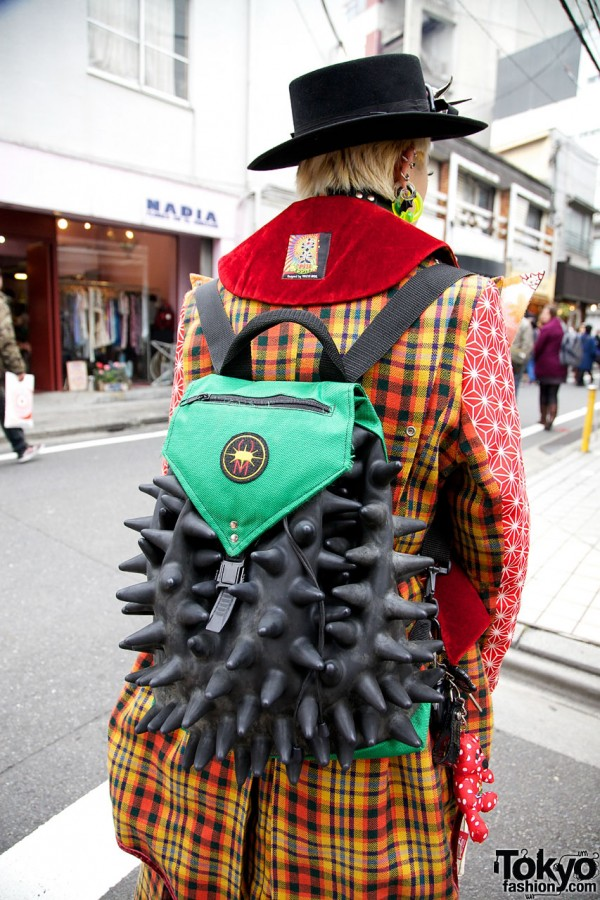 Spiked Backpack in Harajuku