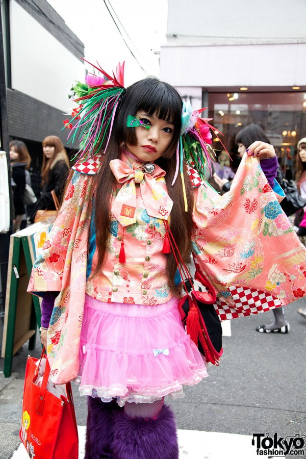 Takuya Angel Kimono Top