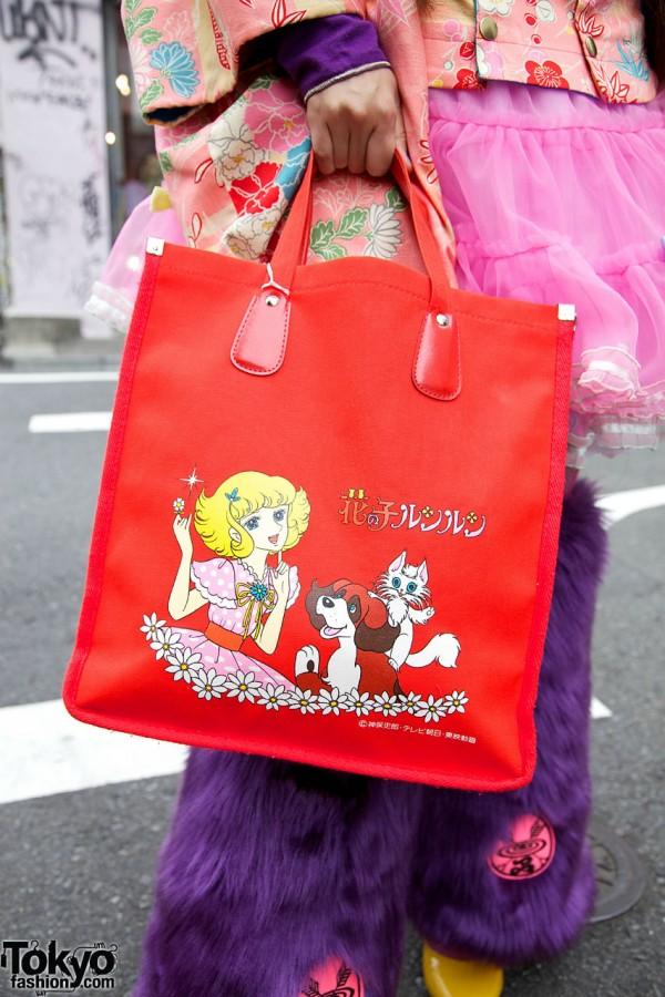 Hana no Ko Lunlun Bag