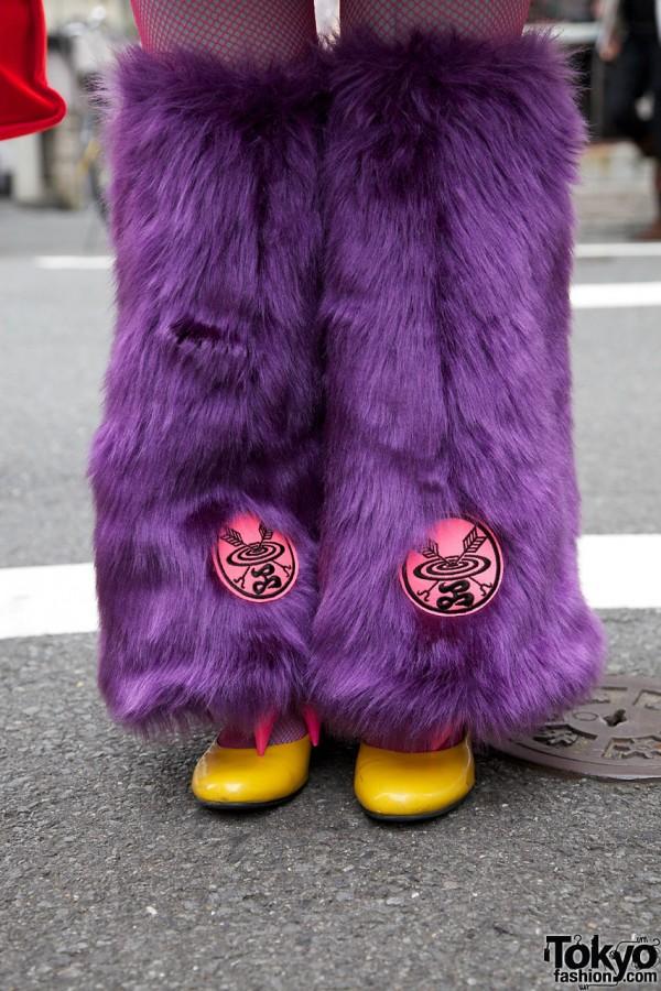 Takuya Angel Leg Warmers