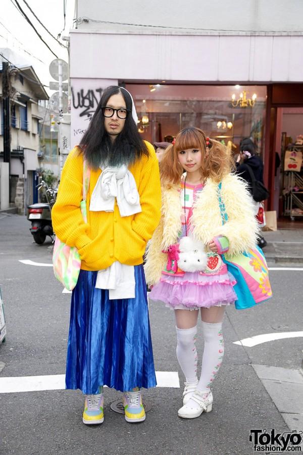 Bright Spring Fashion in Harajuku