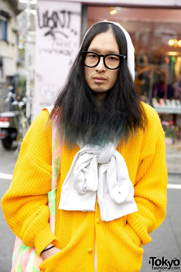 Yellow Resale Sweater from Kinji