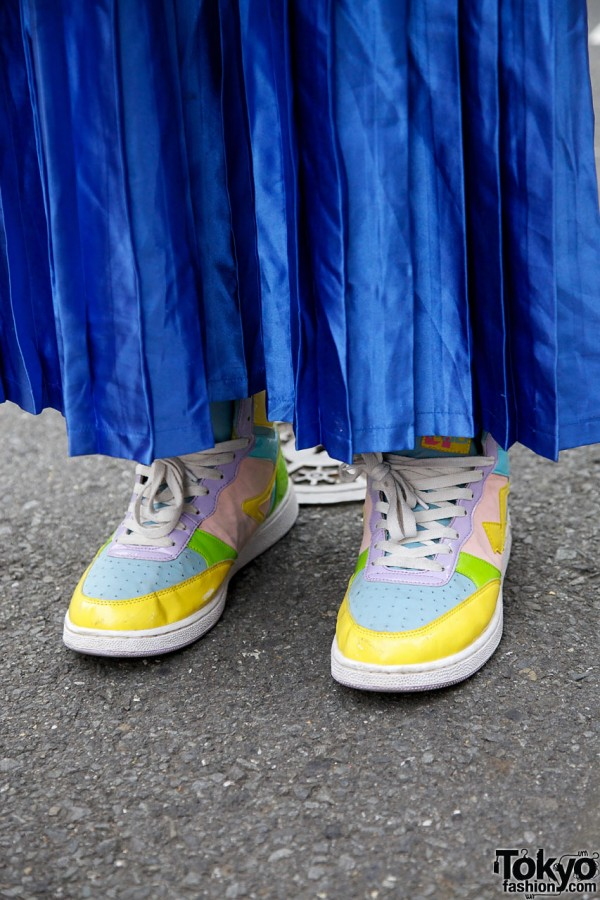 Kinji Skirt & Mad Foot Sneakers