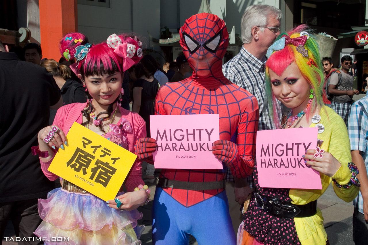 Mighty Harajuku x Spiderman