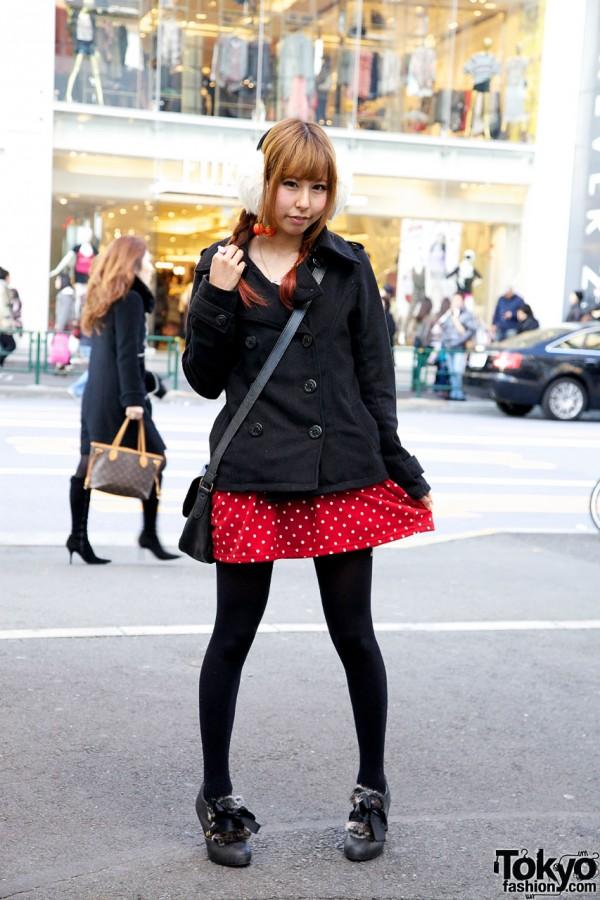 Harajuku girl in INGNI, Nadia & XOXO