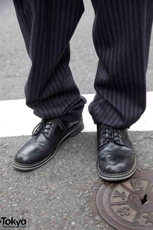 Vivienne Westwood pants & Oxford shoes