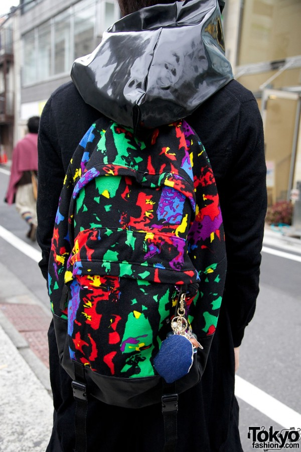 KTZ graphic backpack