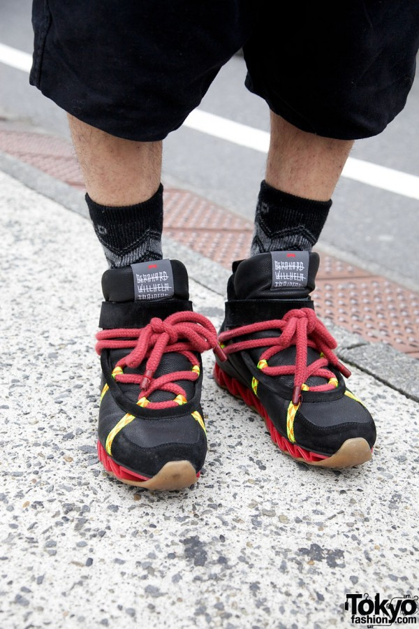 Bernhard Wilhelm x Camper sneakers