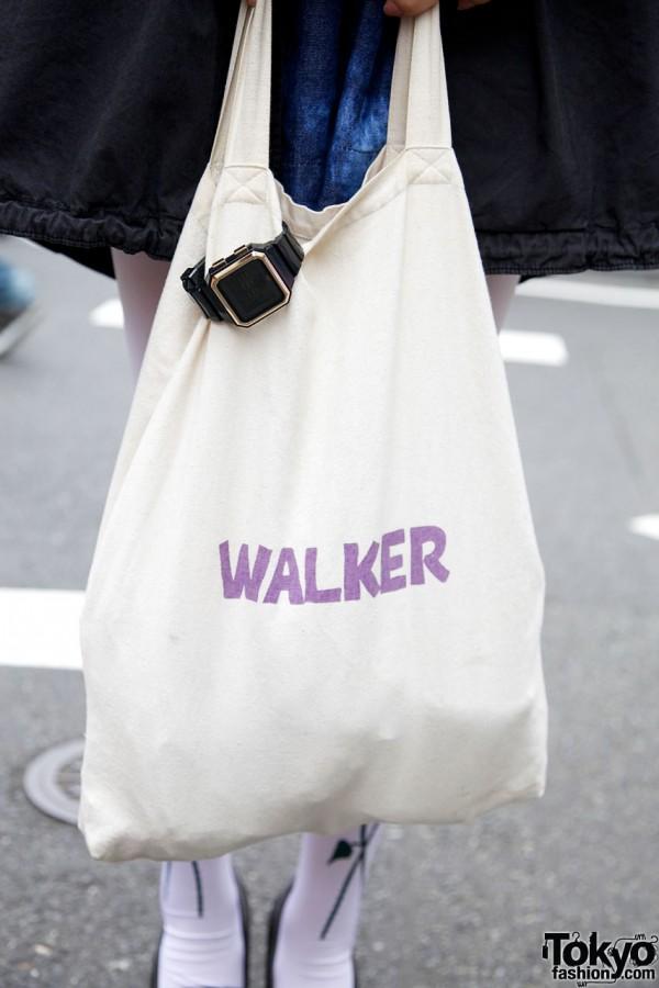 Walker fabric bag