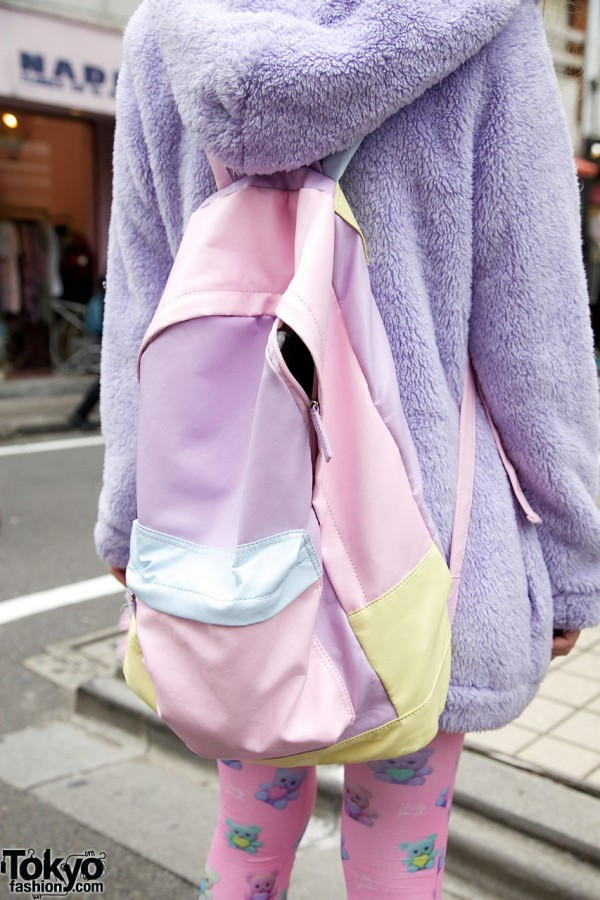 ManiaQ pastel backpack