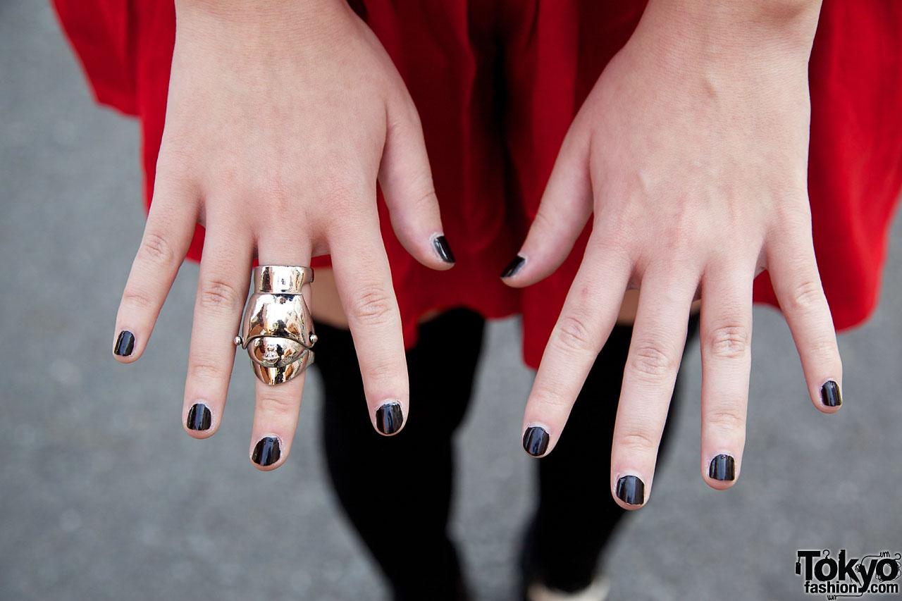 Heather Retro Girl Amp Vivienne Westwood Armor Ring