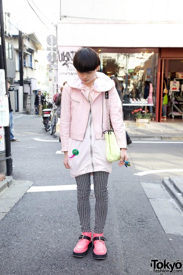 Pink Dog Jacket & Nincompoop Capacity Shoes