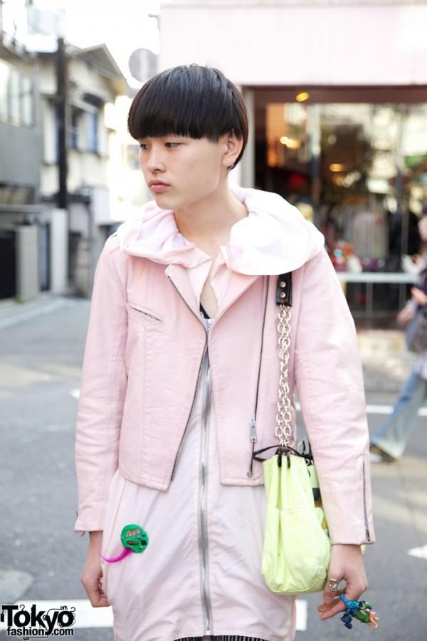 Top & short jacket from Dog resale shop