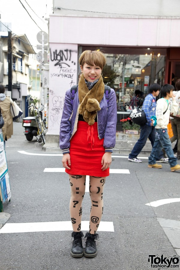 Candy Shibuya Skirt in Harajuku