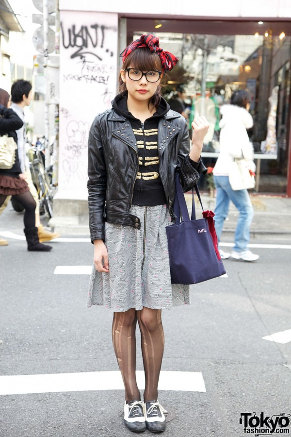 Harajuku Outfit with H>Fractal Skirt