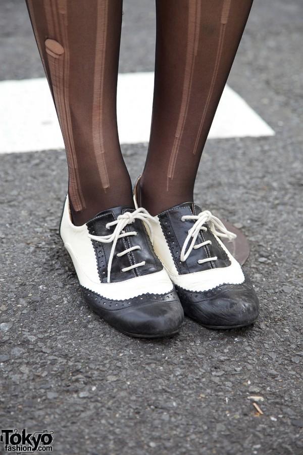 Randa Womens Oxford Shoes