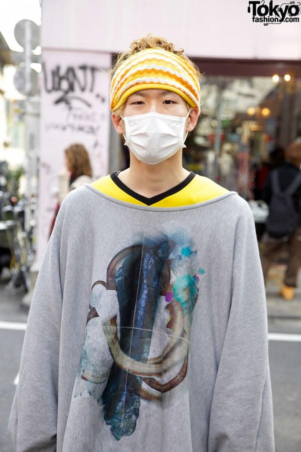 Headband & Mask in Harajuku