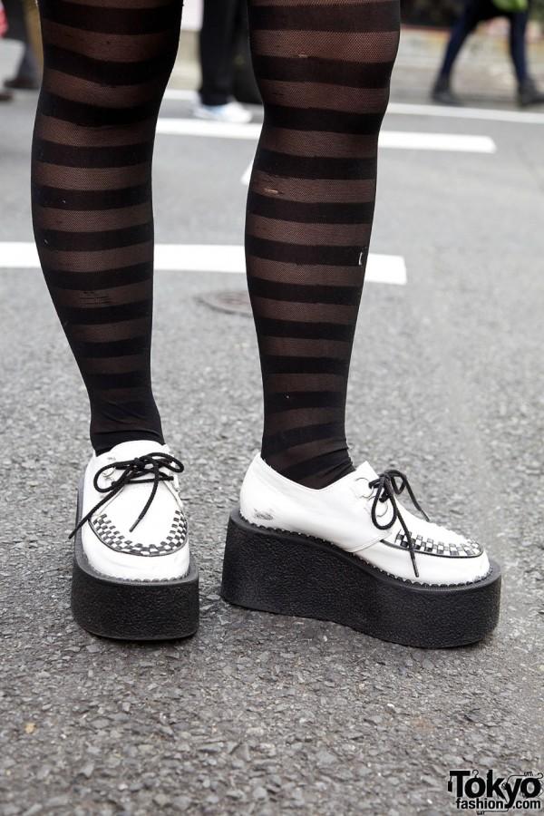 Platform Creeper Shoes