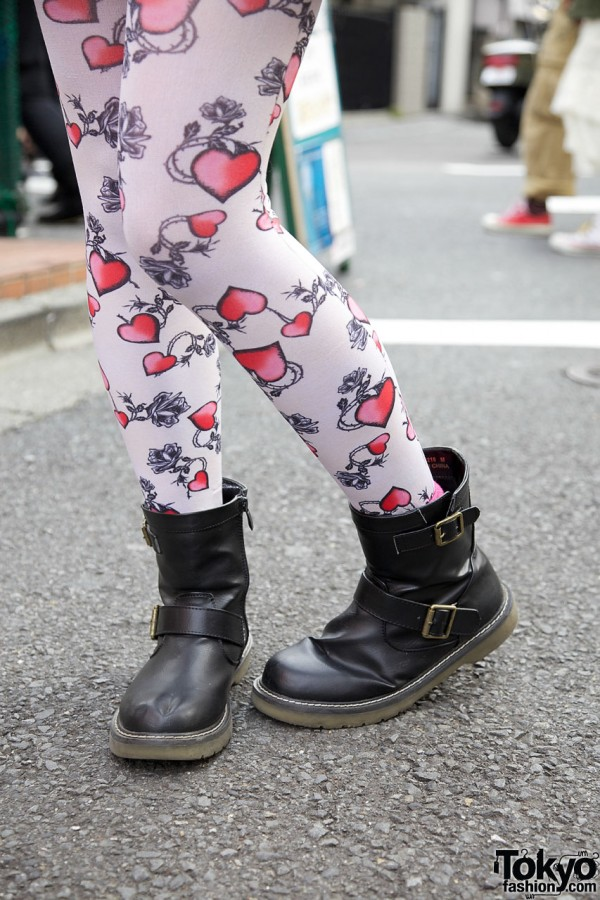 Heart Tights & Boots