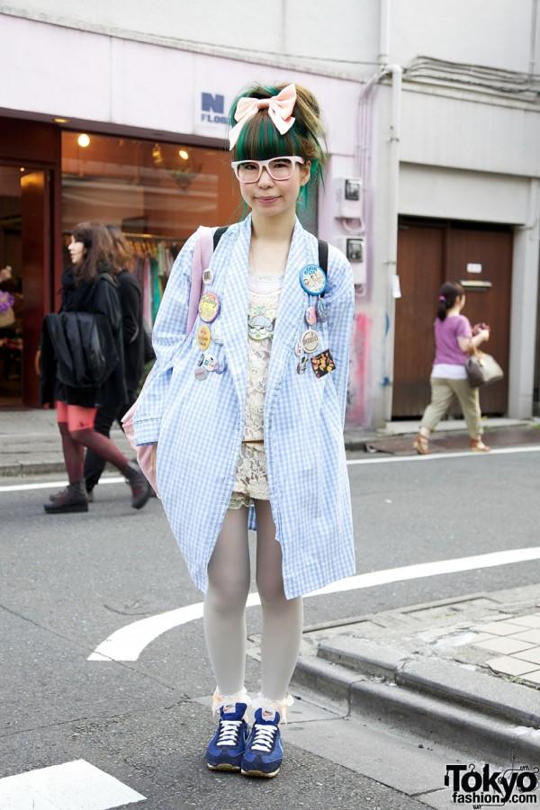 Tavuchi SPANK! & Her Tavuchi Necklace in Harajuku
