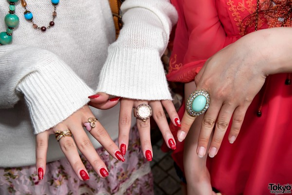 Turquoise Jewelry & Japanese Nails