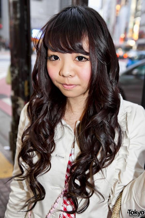 Long Shibuya Hairstyle