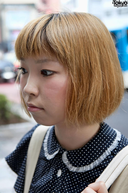 Cute Short Bob Japanese Hairstyle Tokyo Fashion News - Bob hairstyle japan