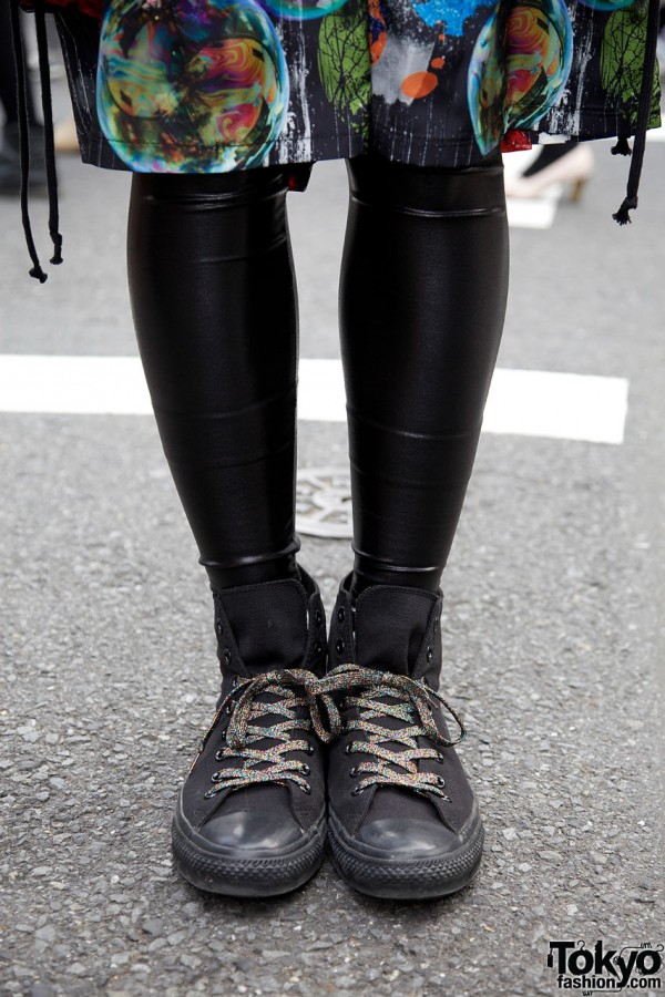 monomania leggings & Converse remake sneakers