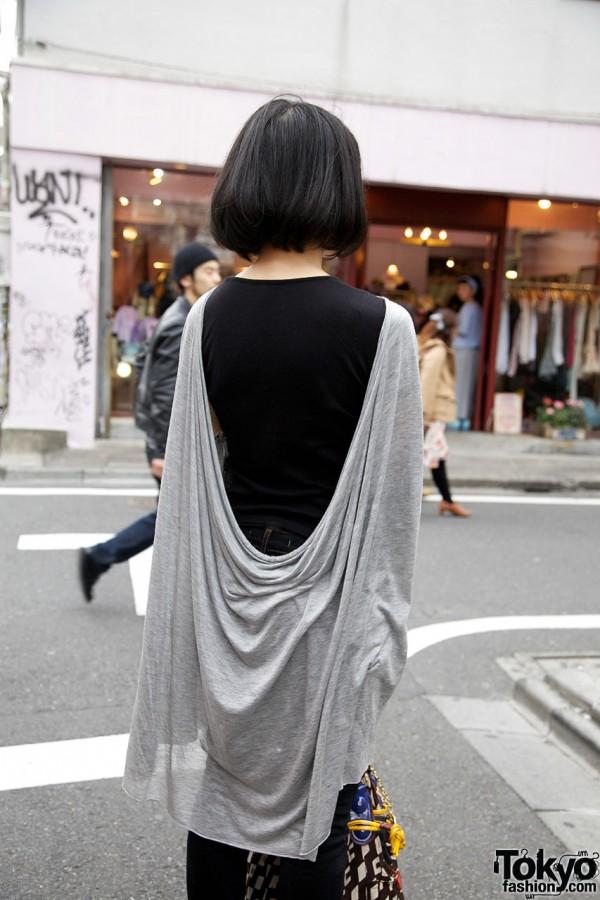 Drape-backed Bless shirt