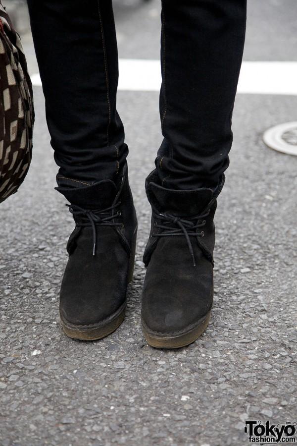 Pierre Hardy platform boots