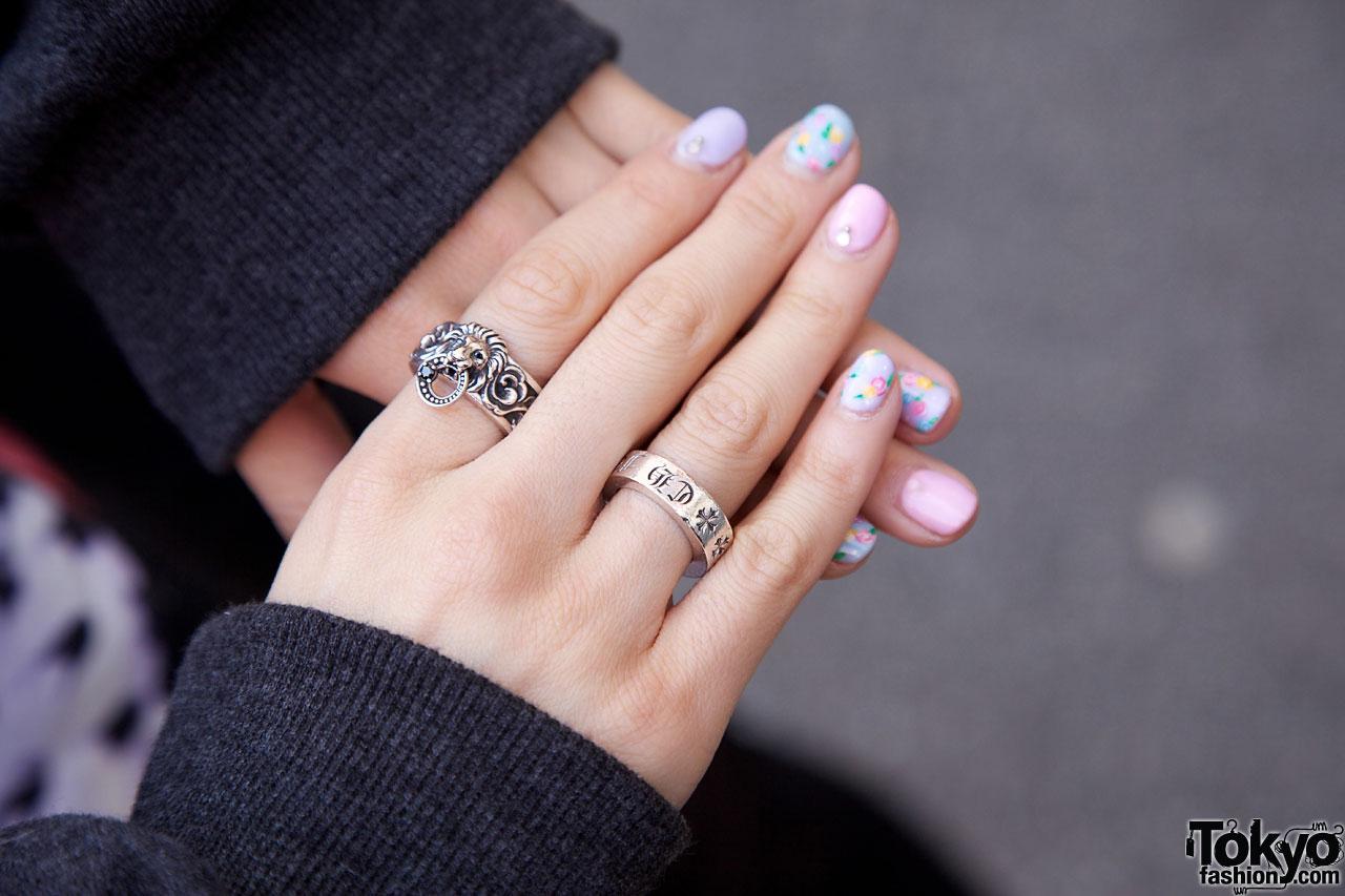 Chrome Hearts Silver Ring Tokyo Fashion News