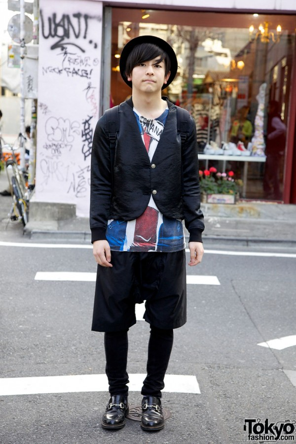 Japanese Guy in Comme des Garcons x Sex Pistols