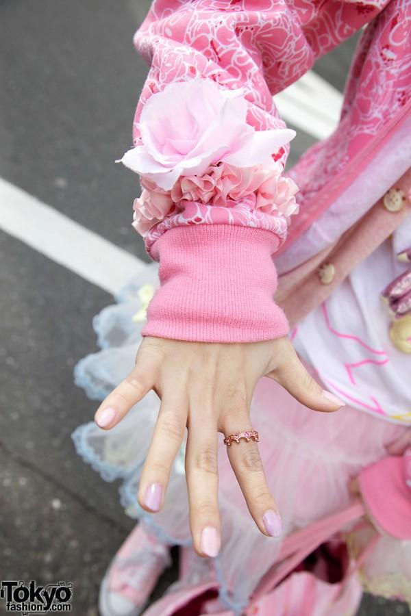 Pink Accessories in Harajuku