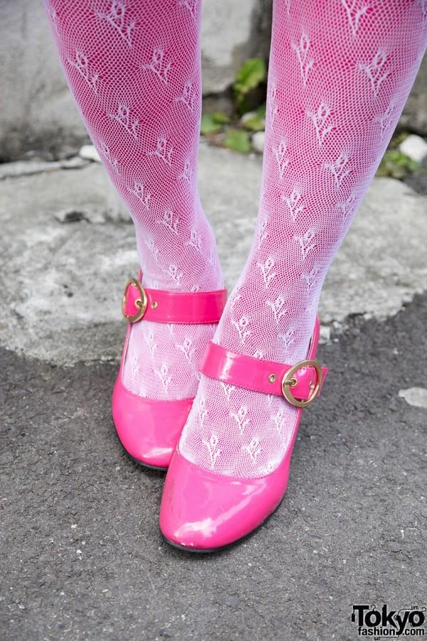 Pink Stockings & Heels