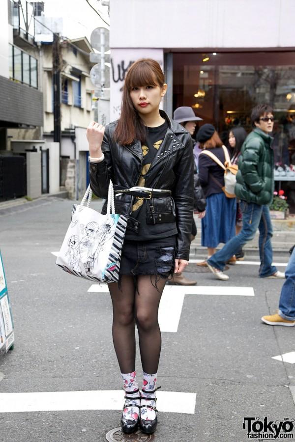 Motorcycle Jacket & EnocDouter x Shojono Tomo