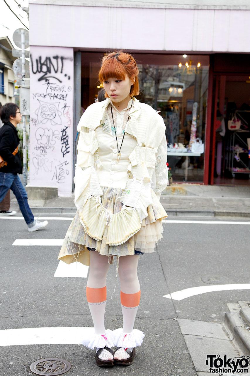 Stunning Handmade Dress in Harajuku