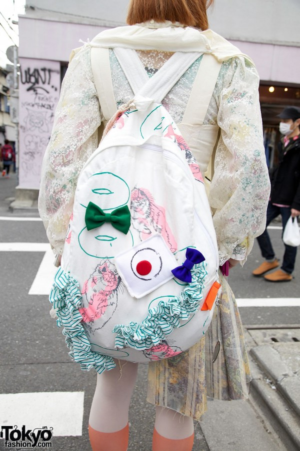 AAbab Backpack in Harajuku