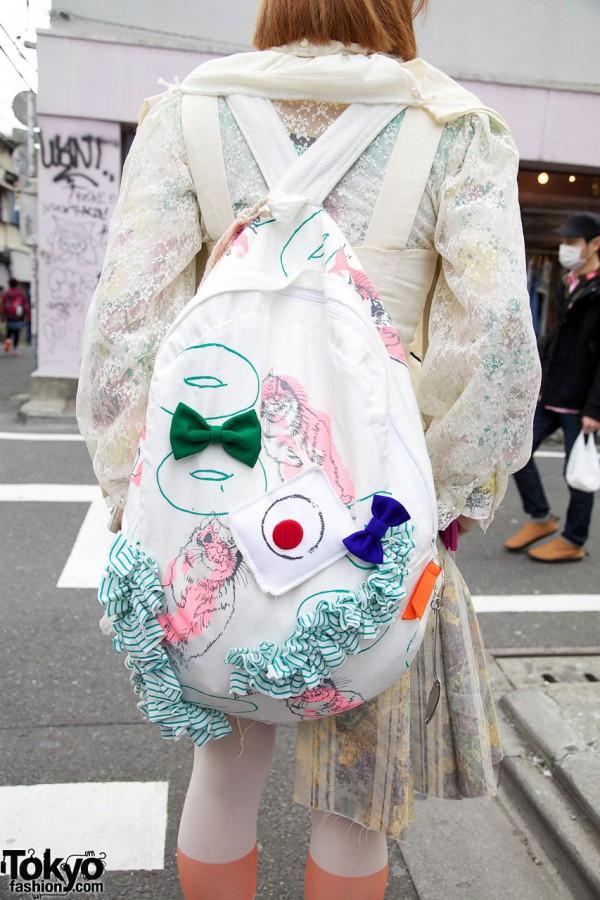 AAbab Backpack in Harajuku