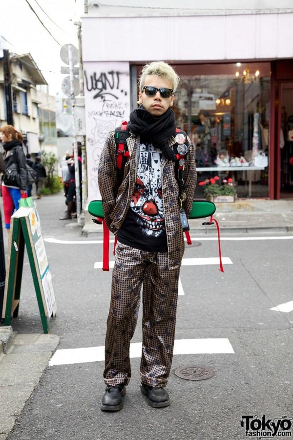 Givenchy Clown w/ Cards & Hayatochiri Suit