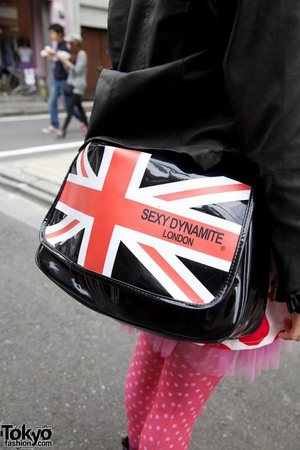 Sexy Dynamite London patent purse