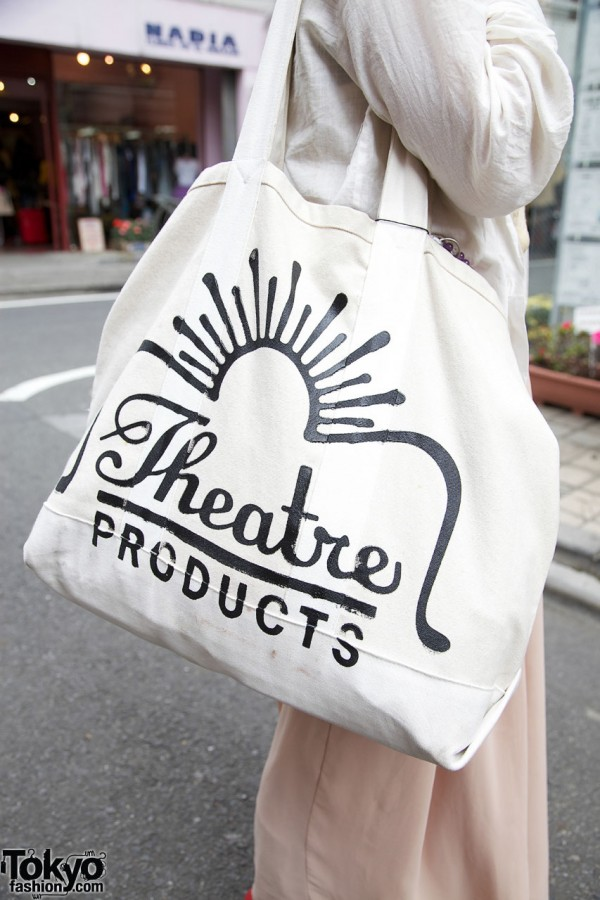 Large Theatre Products tote bag