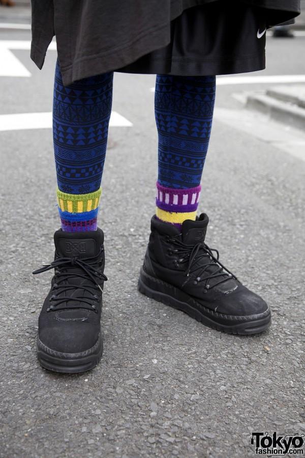 Undercover sneakers in Harajuku