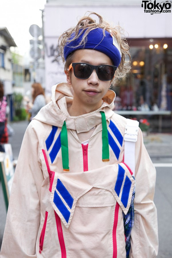 Banal Chic Bizarre jacket in Harajuku