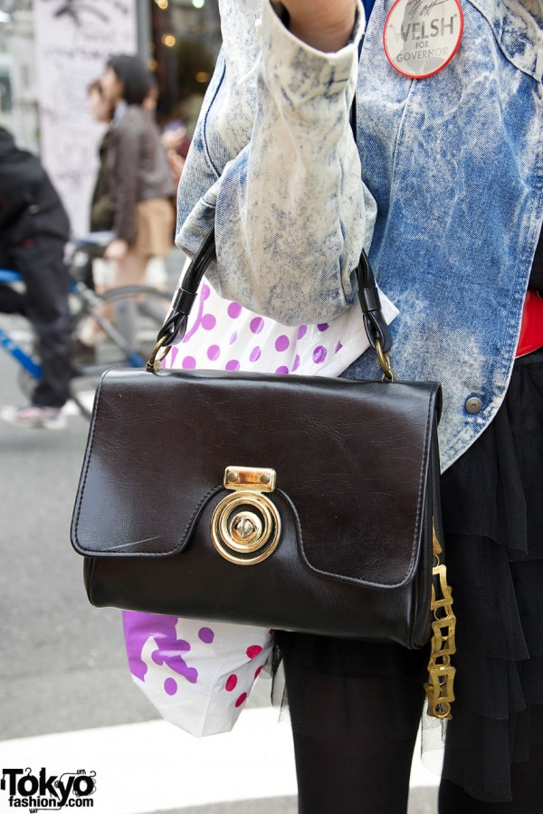 Vintage Purse in Harajuku