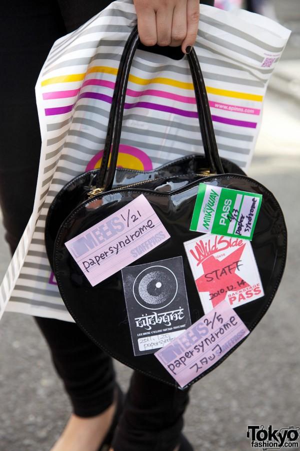 Heart Handbag in Harajuku