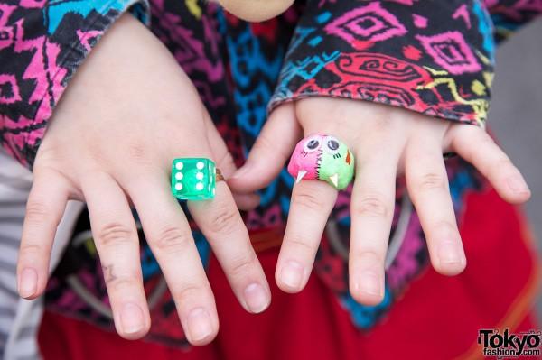Cute Harajuku Rings