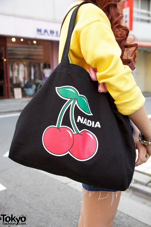 Nadia Harajuku Cherries Bag