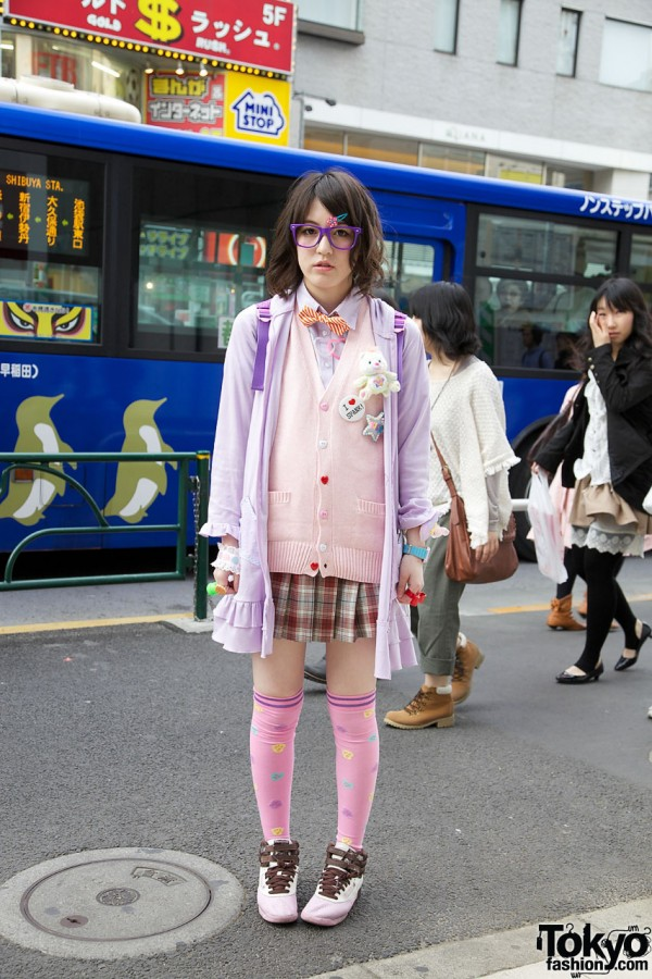 Fairy Kei School Uniform Harajuku Style