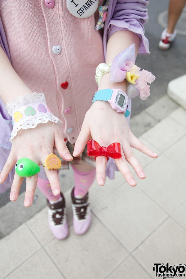 Cute Rings in Harajuku